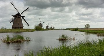 Kinderdijk Nederland sur Chris van Kan