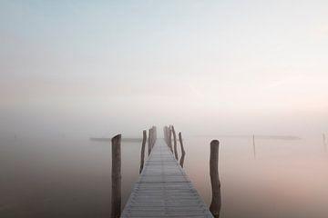 Steg im Nebel von RWNL Fotografie