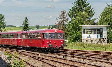 Railbus tijdens de Stoomdagen in Simpelveld