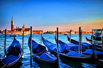 Venetie Italy, Digitale kunst IV van Watze D. de Haan