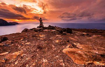 Cairn zonsopgang in Madeira van videomundum
