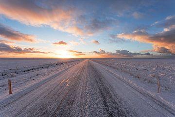 Road 1 IJsland sur Luc Buthker