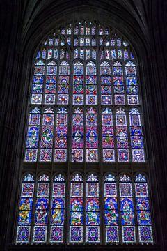 Glas in lood raam van