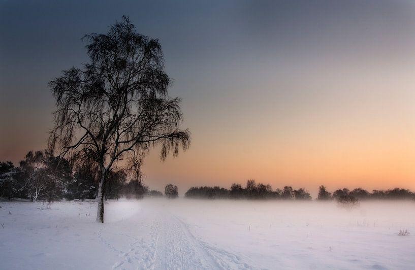 Winter in Limburg van Eus Driessen