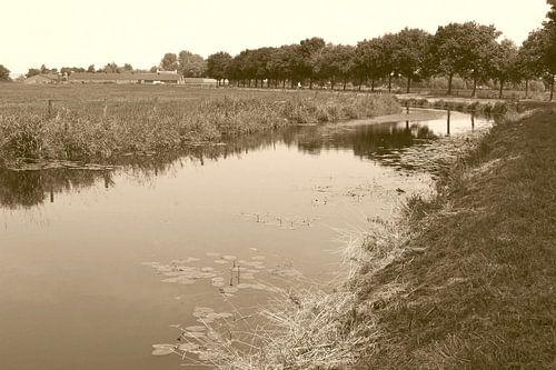 Riviertje in de Eempolder, Soest