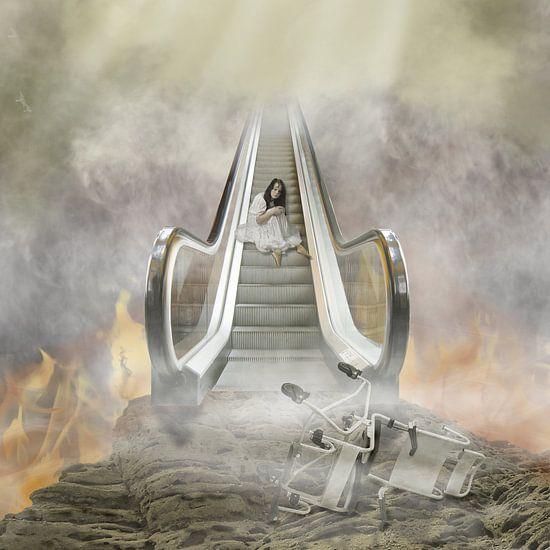 Stairway to Heaven van Jeannette Penris