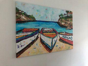 Kundenfoto: Playa Lagun von Happy Paintings