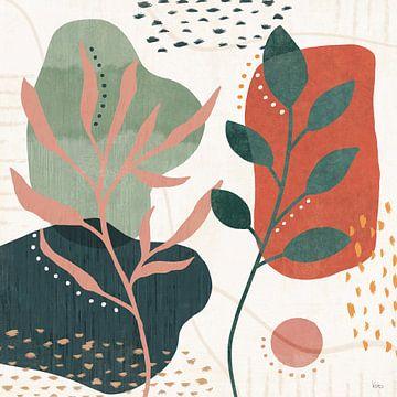 Blossom abstrait V, Veronique Charron