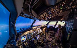 De cockpit van Martijn Kort