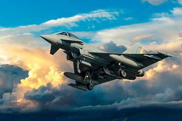 Eurofighter Typhoon van Gert Hilbink