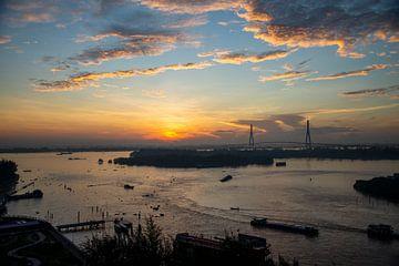 Mekong delta Vietnam van Bram de Muijnck