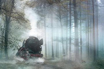 Dampflok von Jeannette Penris