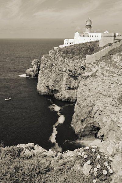 Cabo de São Vicente in Portugal van Marian Sintemaartensdijk