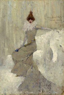 Sarah Bernhardt, Dudley Hardy
