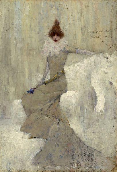 Sarah Bernhardt, Dudley Hardy von Meesterlijcke Meesters