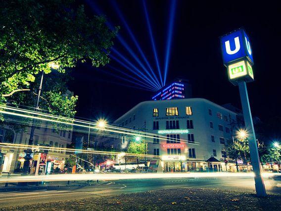 Berlin – Kurfürstendamm at Night / Kudamm-Karree