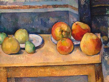Paul Cézanne. Stilleben mit Äpfeln und Birnen