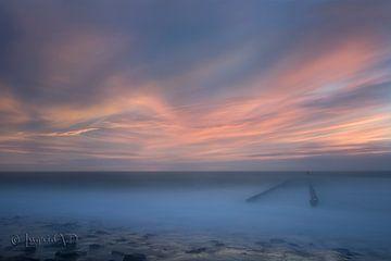 Westkapelle zonsondergang von Ingrid Van Damme fotografie