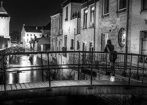 Valkenburg aan de Geul zwart / wit
