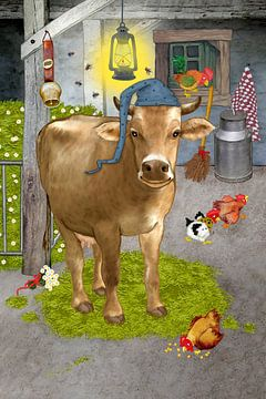 Mijn grappige koe Berta van Marion Krätschmer