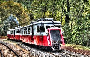Oude trein van RJH van de Kimmenade
