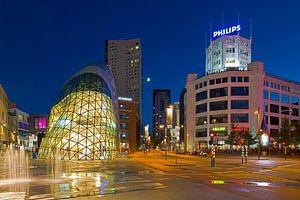 Eindhoven de Blob en Lichttoren van