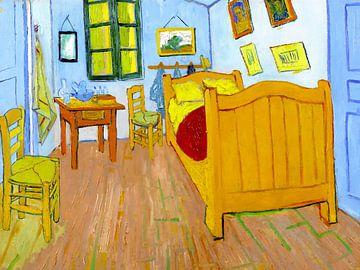 Das Schlafzimmer - Vincent van Gogh - 1888 von Jan Willem van Doesburg