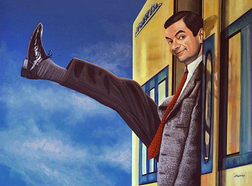 Mister  Bean Schilderij van Paul Meijering
