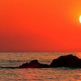 Zakynthos zonsopgang van Dennis van de Water