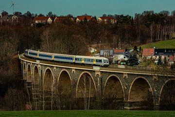 Eisenbahn in Chemnitz von Johnny Flash