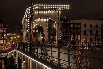 Magere Brug Amsterdam van Jolanda van Straaten