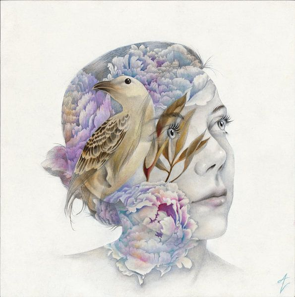 Human Nature II van Amy Verhoeff