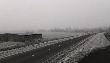 Winterlandschap van Rinke Velds