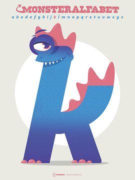 Monster Alphabet Buchstabe J von Gilmar Pattipeilohy