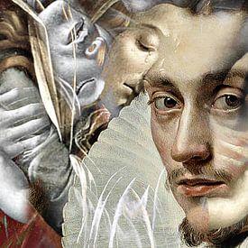 Rubens meets Botticelli van Kirsti's Kunst