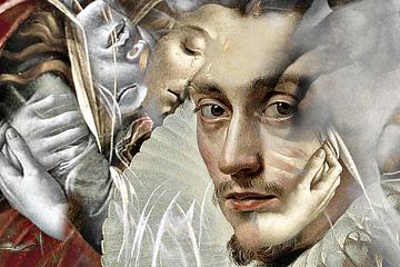 Rubens meets Botticelli von Kirsti's Kunst