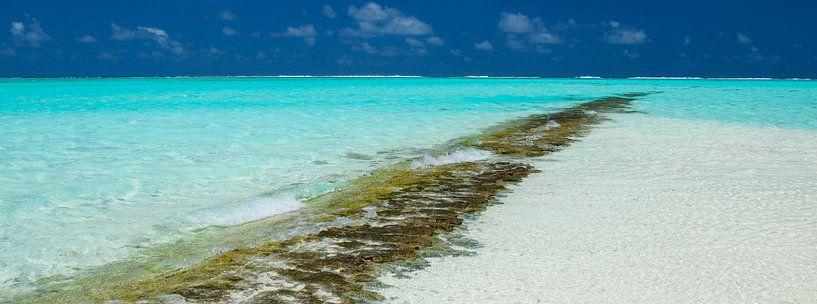 Honeymoon Island, Aitutaki - Cook Islands van Van Oostrum Photography