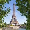 PARIJS Eiffeltoren & Seine van Melanie Viola thumbnail