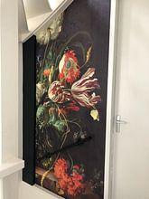 Kundenfoto: Jan Davidsz de Heem. Vase mit Blumen von 1000 Schilderijen