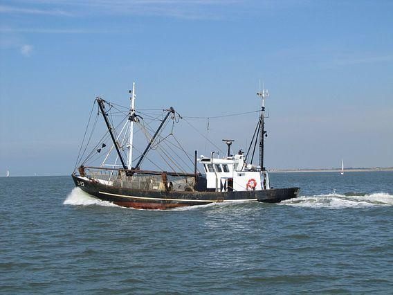 Het zware vissersleven ....