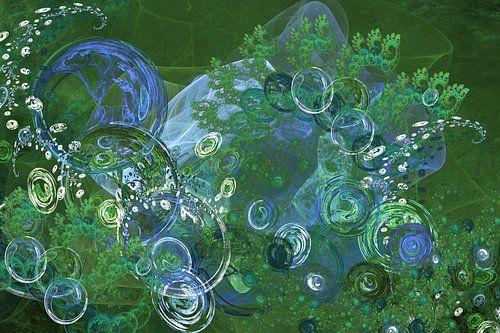 Green bubbles I van