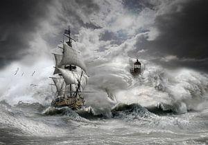 stormy weather 2 van Ron jejaka art