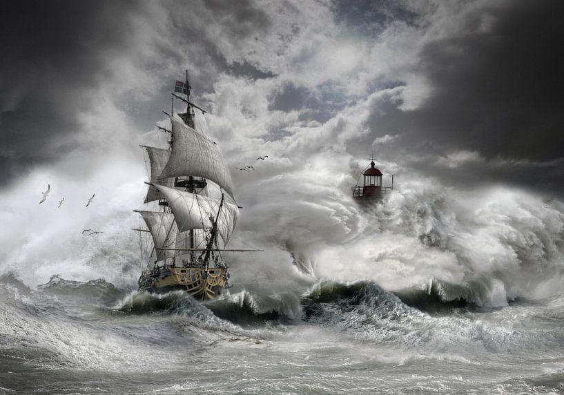 stormy weather 2 van jejaka art