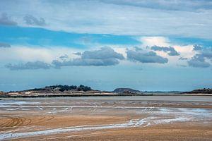 De baai van St Jacut de la Mer-Bretagne - Frankrijk