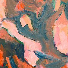 Olive abstrakt II von Nop Briex