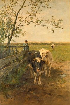 De melkbocht, Anton Mauve