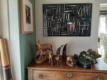 Kundenfoto: Schere Kollektion von Floris Kok, auf alu-dibond