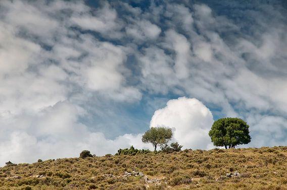 Wolken boven Kefalonia