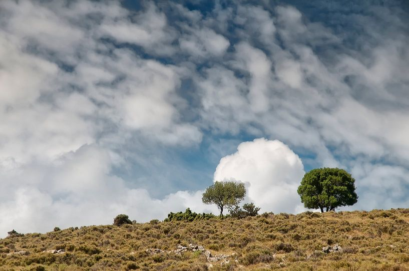 Wolken boven Kefalonia van Ellen Driesse