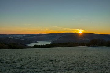 Sunrise at the Hövel van Daniel Raab